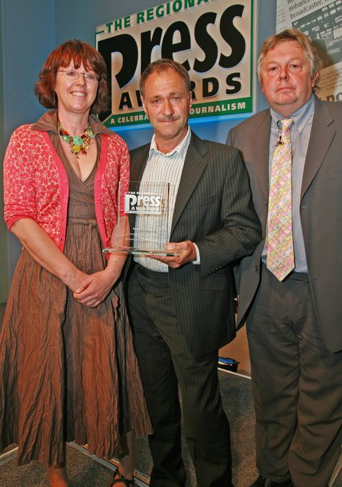 Press Gazette Awards, picture by James Young