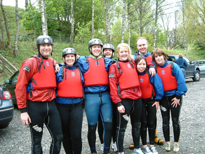 Poppy and team of interpid white water rafters.jpg